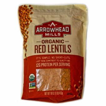 Arrowhead Mills Organic Red Lentils 453g. Price Philippines