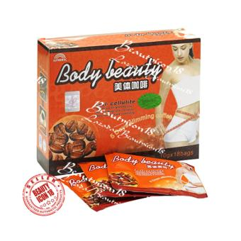 Authentic Body Beauty Slimming Coffee Box of 18 sachets