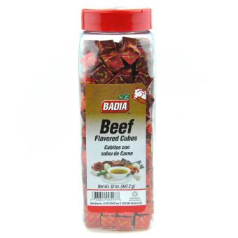 BADIA Beef Bouillon Flavored Cubes 907.2kg