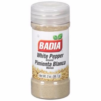 Badia Ground White Pepper, 2 oz