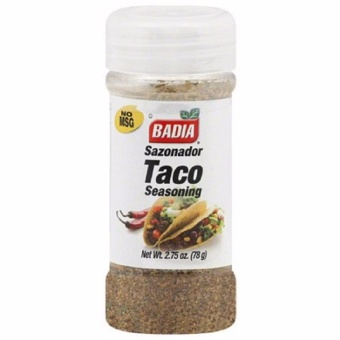 Badia Taco Seasoning 2.75 Ounces