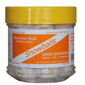 Baguio Good Shepherd Snowballs (white/yellow)