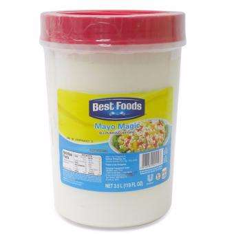 Best Food Real mayonnaise Magic All Purpose 3.5LT 024103 1'S Price Philippines