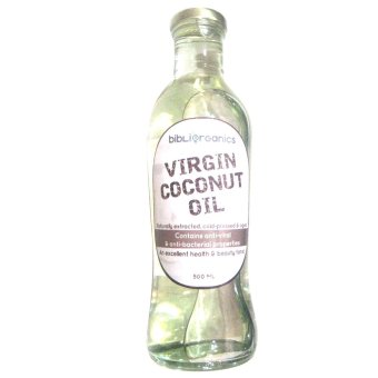 Bibliorganics Virgin Coconut Oil 500ml