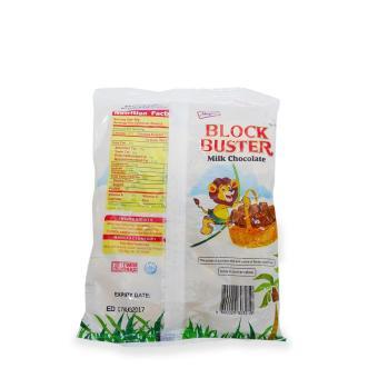 Block Buster Milk Chocolate 198G 90pcs 8's 803219 - 3