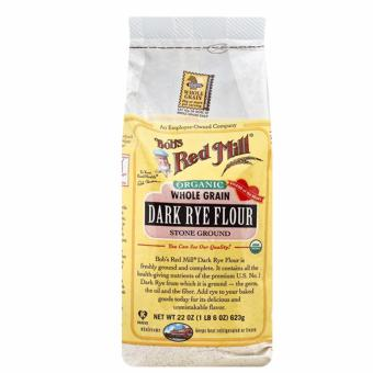 Bob's Red Mill Organic Whole Grain Dark Rye Flour 623g