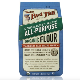 Bob's Red Mill Unbleached White All-Purpose Organic Flour 2.27 Kg
