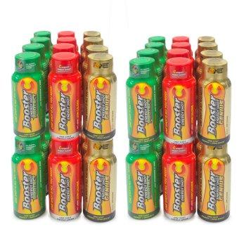 Booster C Energy Shot Trio variants 60 mL Set of 48 (Multicolor)(…)