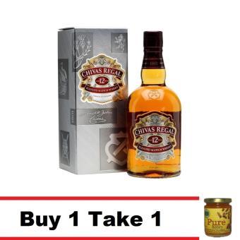 Buy 1 Chivas Regal 12 Years Old 1 Liter Take 1 Natural Pure RawHoney