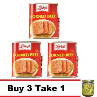 Buy 3 Libby's Corned Beef Take 1 Natural Wild Raw Honey