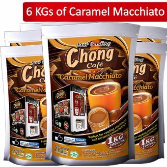 C26C-COM-3 Chong Coffee 3 in 1 (10 Kilos), Hot Choco (10 Kilos) andCaramel Macchiato (6 Kilos) Plus 2600 Paper Cups - Chong Cafe Phils - 3