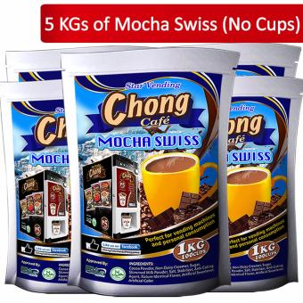 C5-MS Chong Mocha Swiss (5 Kilos) No Cups - Chong Cafe Phils