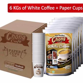 C6C-WC Chong White Coffee (6 Kilos) Plus Paper Cups - Chong CafePhils