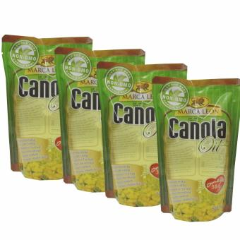 Canola Oil Cooking Oil 500ml 553436 4's Price Philippines