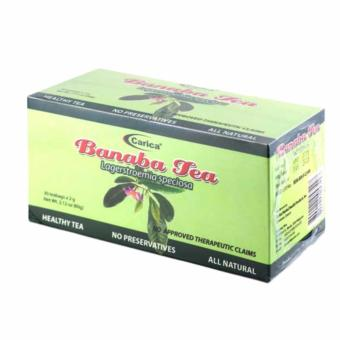 Carica Banaba Tea - Box of 30 Teabags