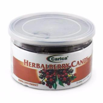Carica Herbal Berry Candy 150g 30pcs
