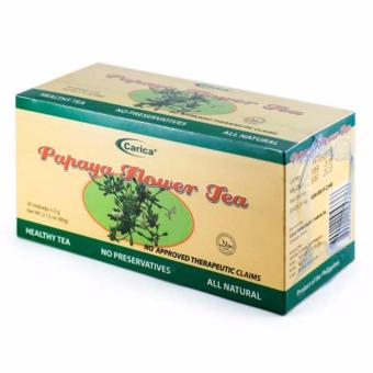 Carica Papaya Flower Tea - Box of 30 Tea bags (2g per tea bag)