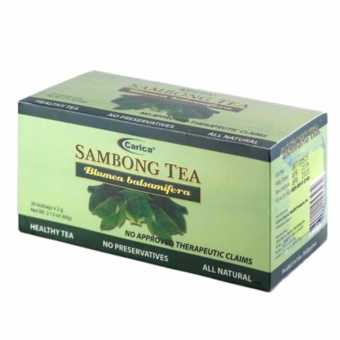 Carica Sambong Tea - Box of 30 Teabags