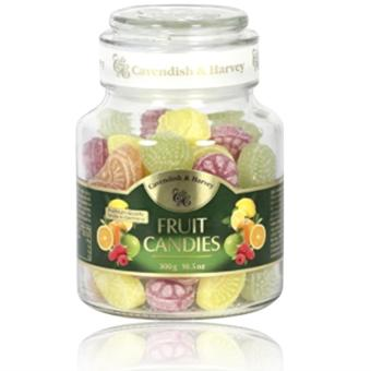 Cavendish & Harvey Candy Fruit in Jar 300 grams