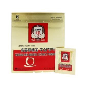 Cheong Kwan Jang (CKJ) Korean Red Ginseng Extract Powder Tea 3g x 50 packs / box