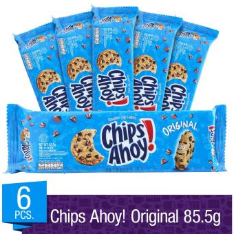 Chips Ahoy! Original Chocolate Chip Cookies 85.5g (Pack of 6)