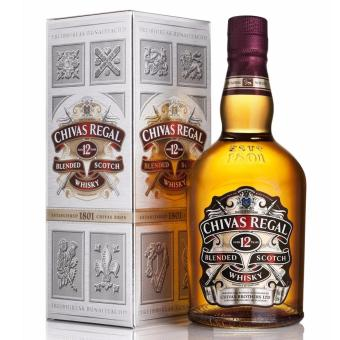 Chivas Whiskey Chivas Regal 12 Yr Blended Scotch 1L