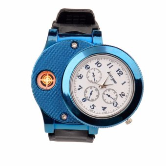 Classy Watch Electronic Lighter (Blue)