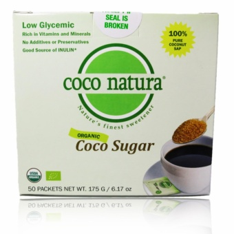 Coco Natura Organic Coco Sugar 50 Packets with Free Arm &Hammer Fridge-N-Freezer Baking Soda 14oz (396.8g) Price Philippines
