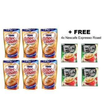 Coffee Mate - The Original - 170g - Set of 6 + FREE 4x NescafeExpresso Roast 20g
