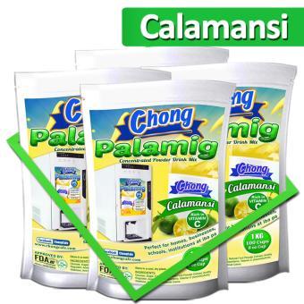 CP10C-COM-4 Chong Palamig Dalandan (4 Kilos), Calamansi (4 Kilos)and Lemon Iced Tea (2 Kilos) Plus 1000 Paper Cups - 2