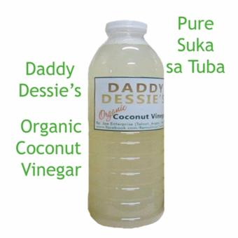 Daddy Dessie's Pure Organic Coconut Vinegar 330ml_c Price Philippines