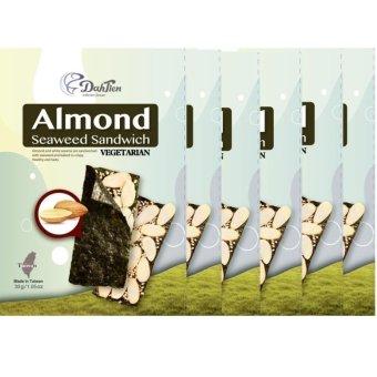 Dahtien Baked Almond Seaweed Sandwich Set of 6