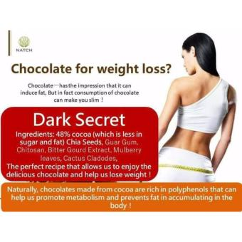 Dark Secret Slimming Chocolate Drink Mix w/ Chia Seeds (5 sachets)(15ml) - 2