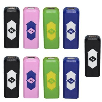 Electronic Lighter (Multicolor) Set of 9