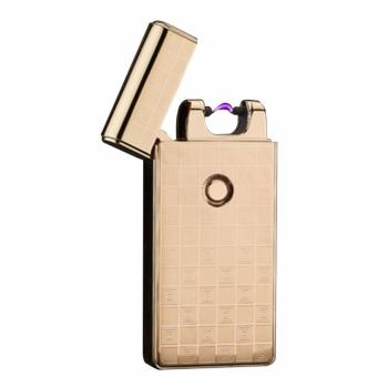 Electronic Rechargeable Windproof Arc Lighter Classic (Gold)