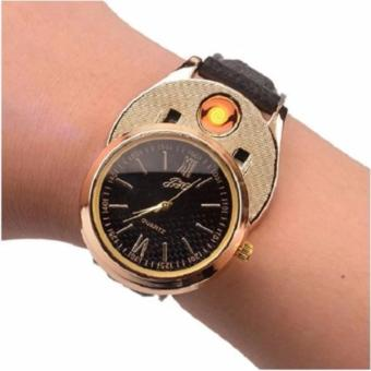 Electronic watch Lighter (Gold/Black) Price Philippines