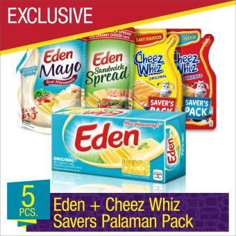 EXCLUSIVE Eden and Cheez Whiz Savers Palaman Pack- Set of 5