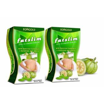 Fatslim - Green Tea Drink Mix with Garcinia Cambogia (20 sachet) Price Philippines