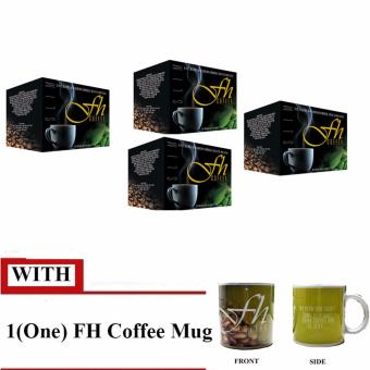 FH Slimming Coffee (4 BOXES) With Mug