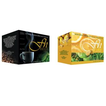 FH Slimming Coffee and FH Slimming Juice Tea Lemon (SlimmingBundle)