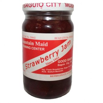 Good Shepherd Strawberry Jam 8oz (Clear/Red)