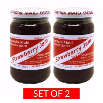 Good Shepherd Strawberry Jam Spread 8oz Set of 2