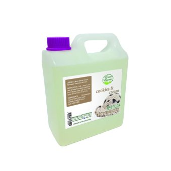Green Leaves Concentrated Cookies and Cream Flavor Essence 500g