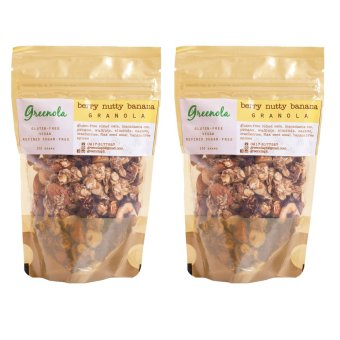 Greenola Berry Nutty Banana Granola Set of 2