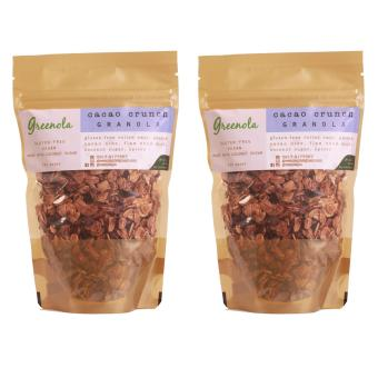 Greenola Cacao Crunch Granola Set of 2