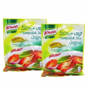 Green/Yellow Knorr Sinigang Sampalok Mix Original 40g 2's 600806w51 (SP)