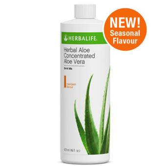 Herbalife Aloe Concentrate Mandarin Flavor 473ml