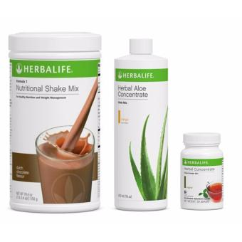 Herbalife Breakfast Pack (Dutch Choco, Aloe Mango and Tea) Price Philippines