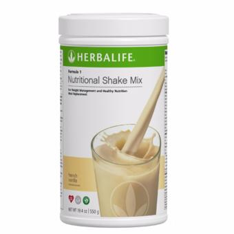 Herbalife F1 Nutritional Shake French Vanilla Flavor 550g Canister
