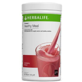 Herbalife F1 Nutritional Shake Wild Berry Canister
